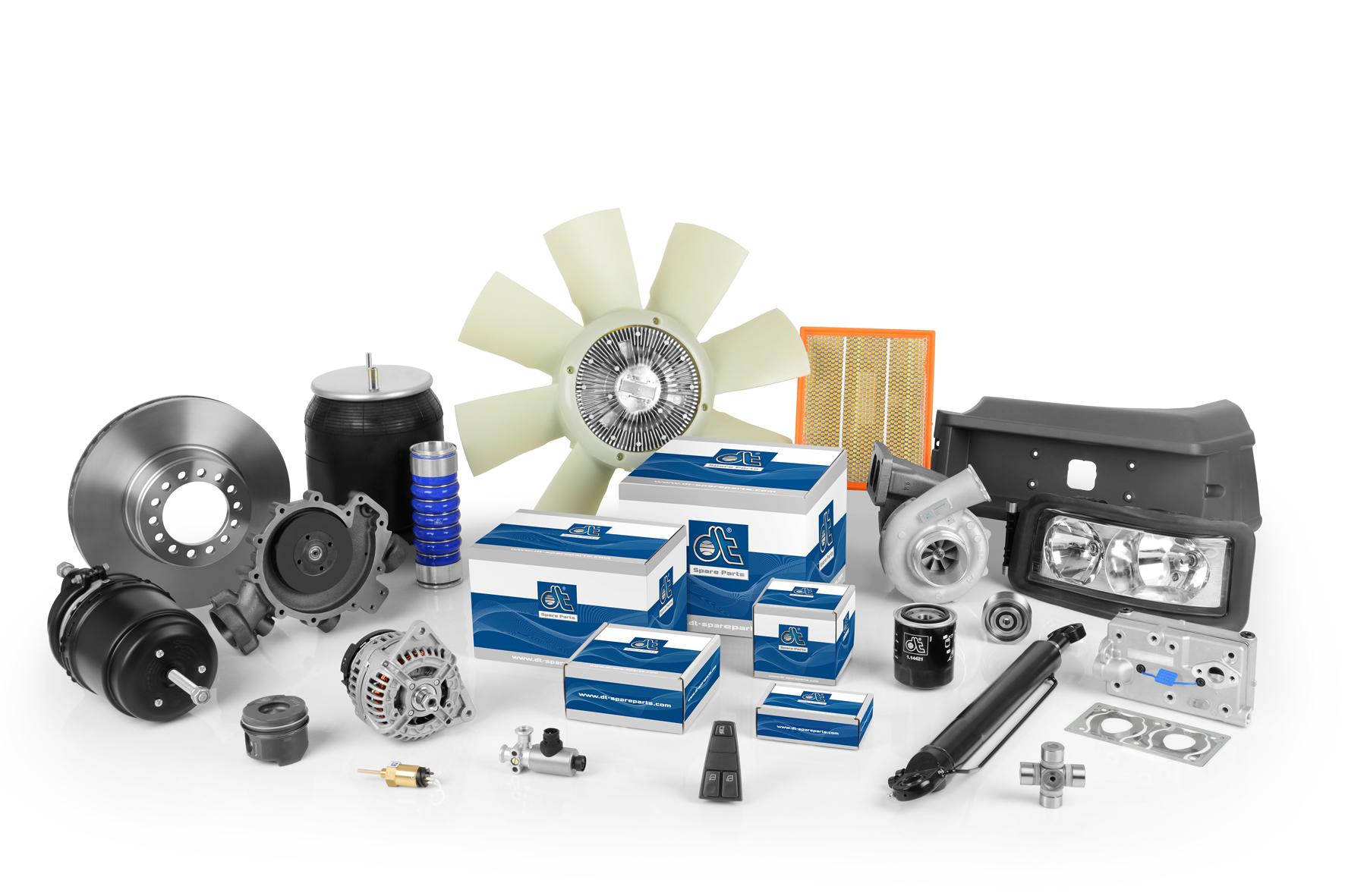 Нов дизайн на опаковката на DT Spare Parts